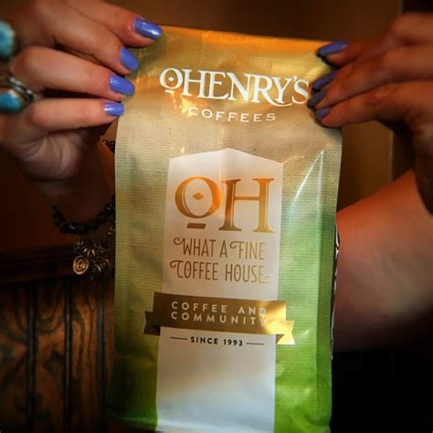 Go ahead, write your name on the side of the cup too. Espresso Blend - OHenry's Coffees Best Coffee House in Birmingham, AL