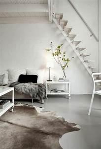Skandinavisch Einrichten Wohnzimmer : wohnzimmer skandinavisch einrichten kuhfell teppich wohnzimmer pinterest interiors and ~ Sanjose-hotels-ca.com Haus und Dekorationen