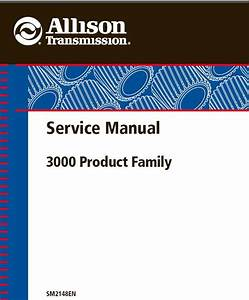 Allison 3000 Series Transmission Service Repair Manual