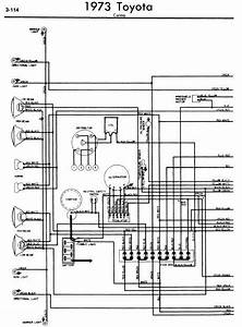 Toyota Carina 1973 Wiring Diagrams