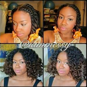 Flat Twist Out with Flexi Rods