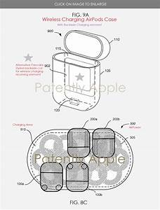 Apple U0026 39 S Patent Covering Their Wireless Charging Airpods Case For Airpower Surfaces As Launch