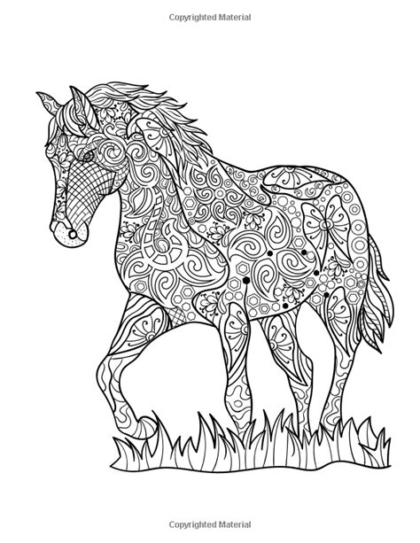http://www.amazon.com/Horse-Coloring-Book-Patterns