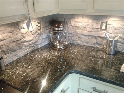how to install a backsplash in the kitchen this is air but looks and feels like the real deal 9752