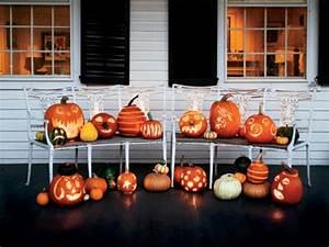 Decoration Halloween Maison : uniques id es pour la citrouille de halloween ~ Voncanada.com Idées de Décoration