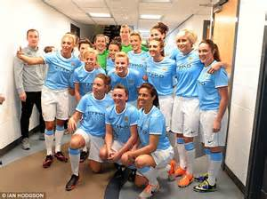 Star-studded girls! Man City women's side relaunch ahead ...