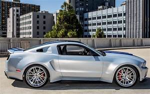 ford, Mustang, Tuning, Widebody, Nfs, Stripes, Front, 2013, Muscle, Wheel, Wheels Wallpapers HD ...