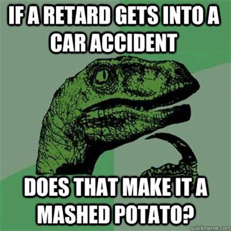 Mashed Potatoes Meme - car crash memes