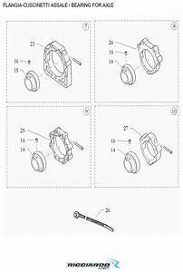 Axle Bearing Parts Diagram  U2013 Ricciardo Kart