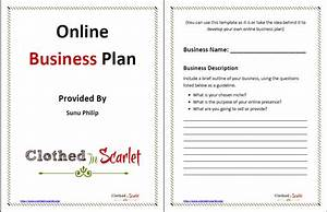 day 5 online business plan template free download With free buisness plan template
