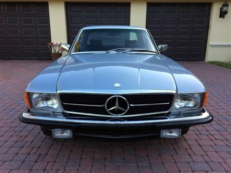 Everything works as it should, including all of the windows, lights, gauges, and sunroof. 1980 Mercedes-Benz 450 SLC 5.0 Euro Coupe Rare Low Miles Very Collectible for sale in Naples ...