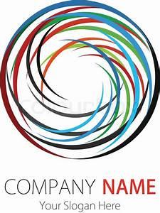 Company (Business) Logo Design, Vector, Circle Stock