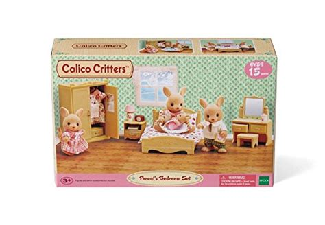 Calico Critters Parents Bedroom Set New
