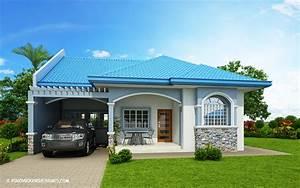 Marifel, U2013, Delightful, 3-bedroom, Modern, Bungalow, House, -, Pinoy, House, Designs