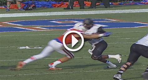 video gators dl ejected  targeting call  huge hit