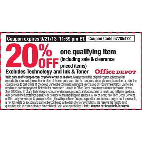 Office Depot Coupons For Technology by Office Depot Coupons Technology Products Officedepot