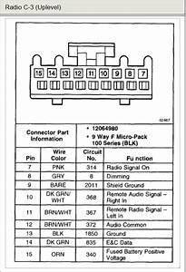 2003 Chevy Tahoe Speaker Wiring Diagram