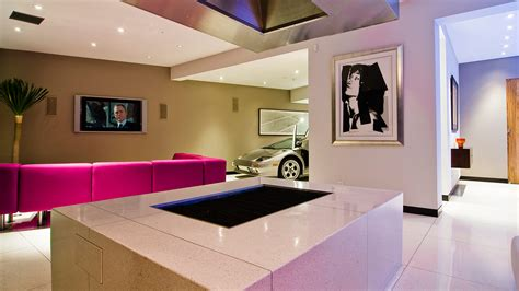 modern country living room ideas modern bachelor pad with indoor car park