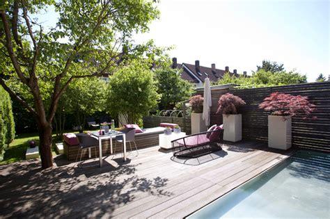 Gartengestaltung Hausgarten MünchenTrudering Modern