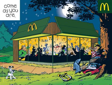 livre cuisine pdf pub mcdonald 39 s venez comme vous êtes astérix obélix