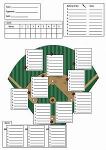 Baseball Lineup Card Printable 9 Baseball Line Up Card Templates Doc Pdf Psd Eps