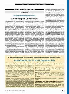 Leichenschau Abrechnung : mitteilungen amtliche geb hrenordnung f r rzte abrechnung der leichenschau ~ Themetempest.com Abrechnung