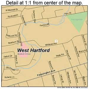 West Hartford CT Map