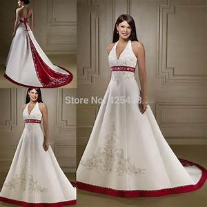 popular cheap red and white wedding dresses buy cheap With cheap white wedding dresses