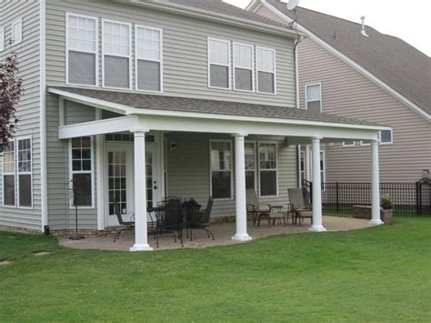 home depot patio shed roof porch ideas how to construct shed roof porch