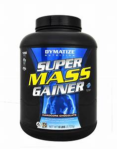 Super Mass Gainer By Dymatize  2700 Grams