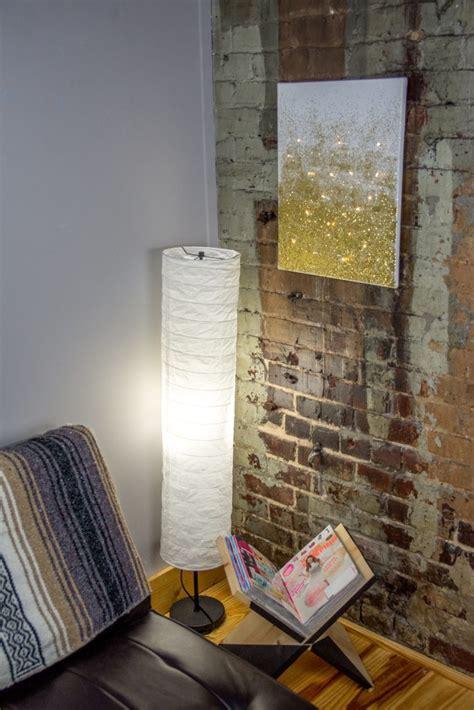diy glitter lighted canvas   craft   day