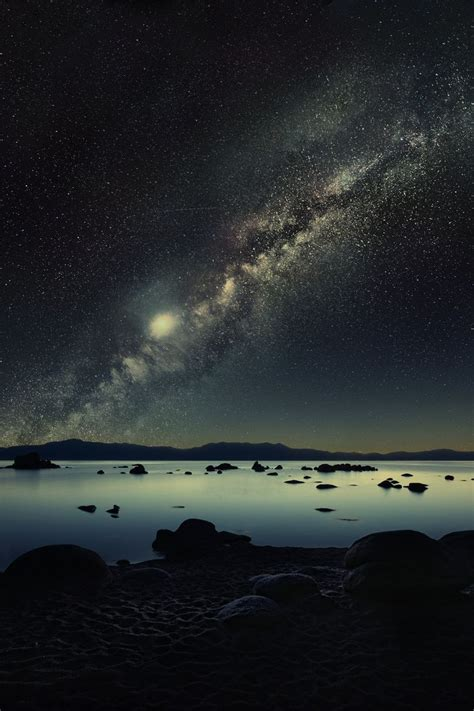 Milky Way The Night Sky Galaxies Glitz