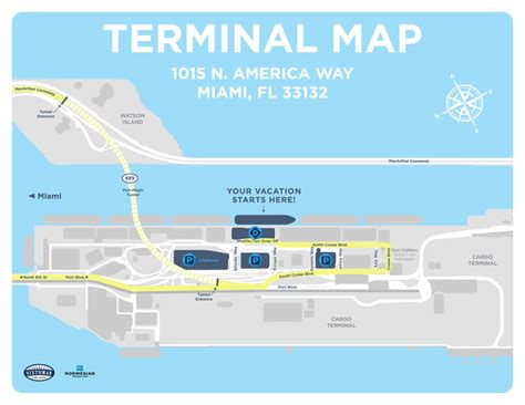 Car Rentals At Miami Cruise by Distance From Miami International Airport To Fort