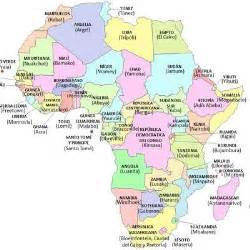 Africa Countries and Their Capitals