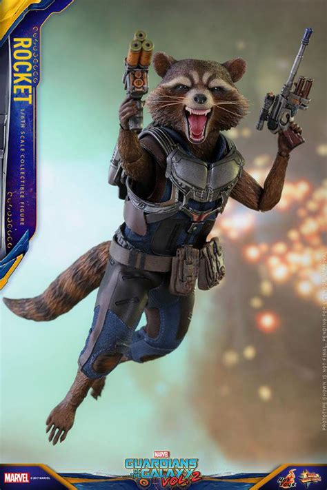 hot toys rocket raccoon deluxe baby groot   order