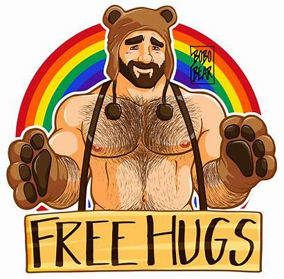 Bear Gay Bobo Meanshappy Wonderful Pride Happy