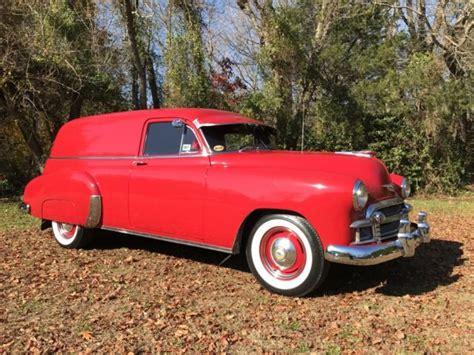 1950 Chevrolet Sedan Delivery 2 Door Origional Inline 6