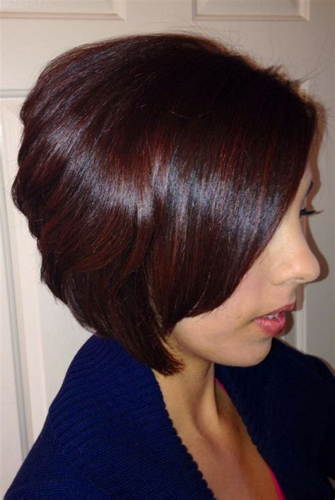 Rich Glossy Brown Hair by Hair Color By Feria Rich Mahogany Hair
