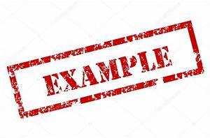 Grunge Example Stamp  U2014 Stock Vector  U00a9 Burakowski  8938821