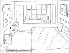 Bedroom Design Template by A Dream Bedroom Colouring Pages