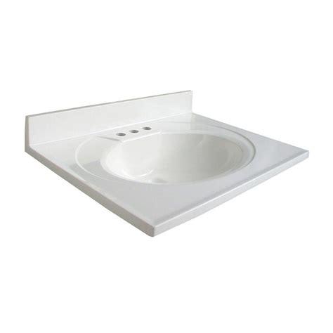 glacier kitchen faucet glacier bay newport 25 in ab engineered composite vanity