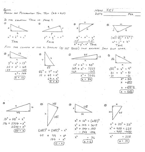 images  practice geometry worksheet answer key