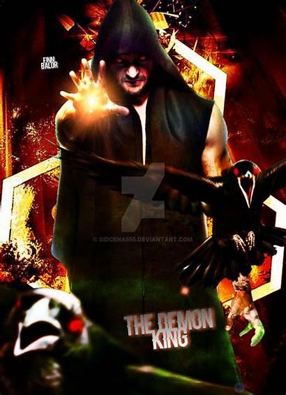 Finn Balor Demon Poster Deviantart