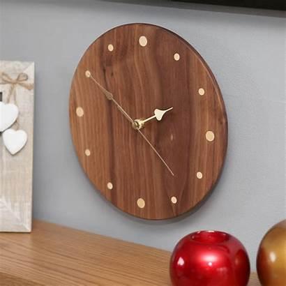 Clock Wall Wood Handmade Notonthehighstreet Apple Berry