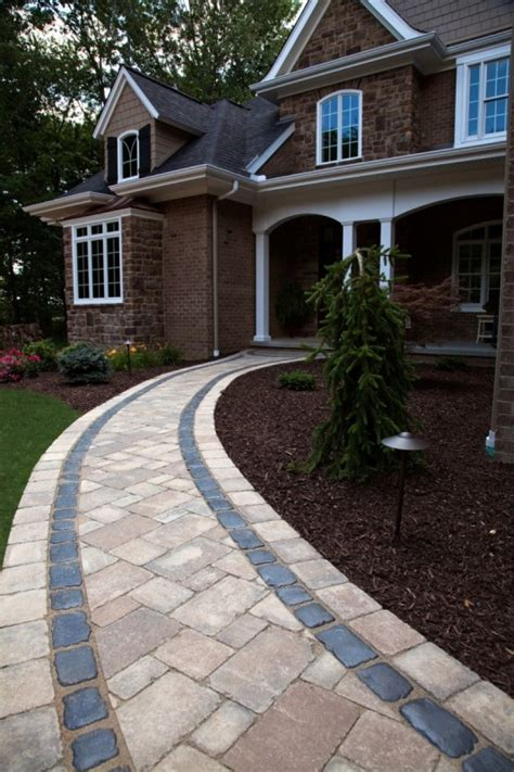 unilock courtstone pavers and wall block harken s landscape supply garden