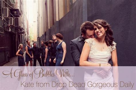 Drop Dead Gorgeous Daily Interview Polka Dot Bride