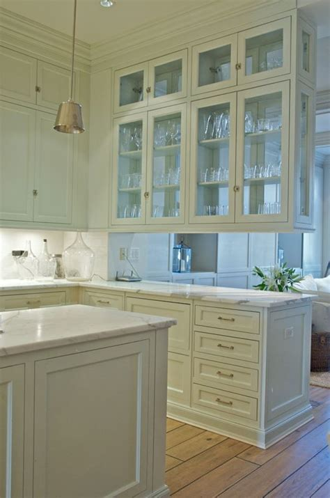 see through kitchen cabinet doors 25 best ideas about glass cabinets on glass 7879