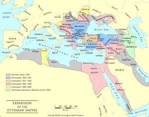what was the capital of the ottoman political map the ottoman empire