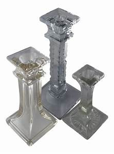 mid century cut crystal glass mix candle holders set With kitchen cabinet trends 2018 combined with candle holders crystal