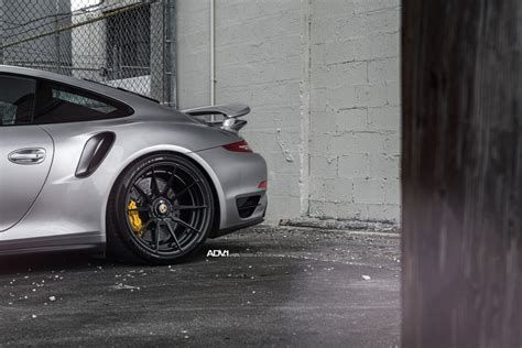 porsche turbo wheels black porsche 911 turbo s serving well done wheels on a silver